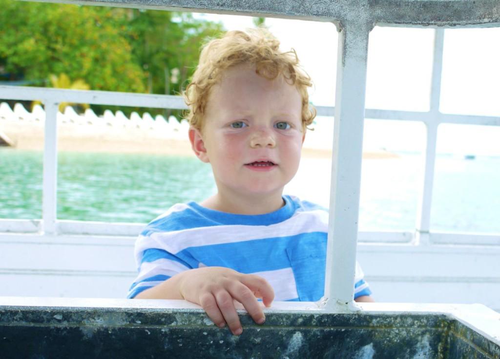Beach baby Alex