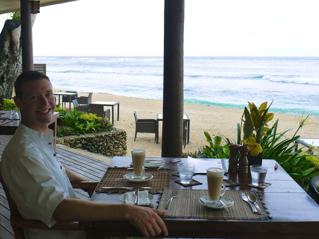 Mike breakfast Eratap