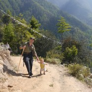 Bhutan at the speed of baby – the big hike and other happenings